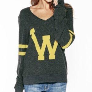 Wildfox letterman sweatshirt